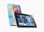 Tablet frozen disney con chip, uso como telefono