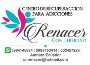 Centro de recuperación y rehabilitación problemas alcohol y drogas
