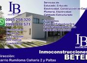 Inmoconstrucciones betel: ofrecemos asesoría profesional en venta