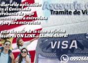 2x1 asesoría de visa americana