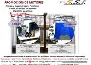 Motores electricos para portones