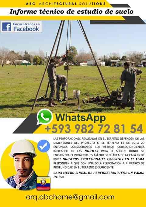 Estudio de suelo Portoviejo y la provincia   Portoviejo   0982728154 by ABC