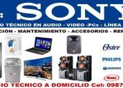 Servicio tecnico en audipo video linea blanca refrigeracion