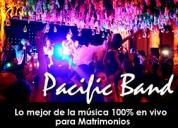Pacific band lo mejor de la musica 100% en vivo