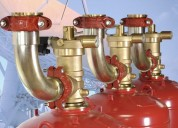 Sistemas de control de incendio (detección y extinción) fm 200, novec 1230, co2. whatsapp 09814126
