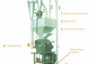 Molino meelko para harina de trigo 300-400kg kit completo