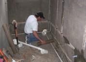 Plomero arreglo tuberia de cobre plastico destapamos desagues