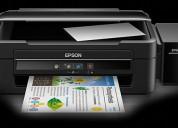 Impresora epson l380 con sistema original de tinta