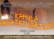 "Masajes eroticos ""kamila"""
