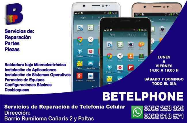 Reparación de celulares en Sangolquí-Rumiloma
