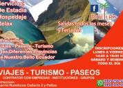 Paquetes turísticos para familias, empresas y estudiantes