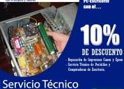 Servicio técnico de computadoras y laptops en rumiloma