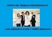 Empresa necesita  personal 5 vacante
