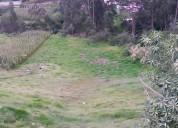 Se vende un terreno apto para microempresarios en el sector de amaguaña