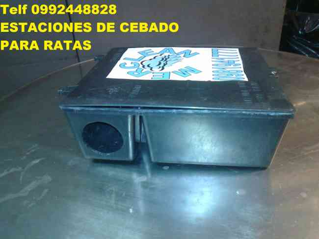 Telf 2428098 VENTA DE CAJAS CEBADERAS PARA EL CONTROL DE PLAGAS