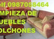 Telf 0987058464 limpieza de colchones cortinas muebles