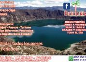 Viajes, paseos y turismo al ecuador desde sangolquí