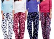Confección de pijamas en tela térmica y de algodón-sangolquí