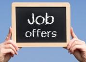 Oportunidad de trabajo en el extranjero