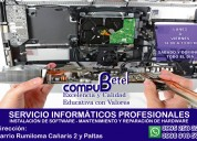 Servicio técnico garantizado de computadoras y laptops-sangolquí