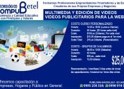 Compu betel: ofrece cursos de edición de vídeos y multimedia