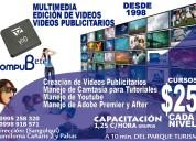 Cursos de multimedia y edición de vídeos en sangolquí