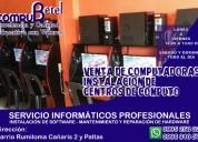 Servicio técnico y mantenimiento de cybers