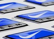 Fabrica de calcos doming, calcos en 3d para publicidad, adhesivos decorativos y otros