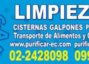Telef 0987919482 limpieza de tanques de agua