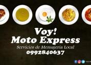 Voy moto express servicio de entregas puerta a puerta