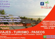 Ofrecemos turismo a manta para estudiantes, familias y empresas