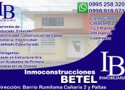Se vende un terreno  para microempresarios en amaguaña