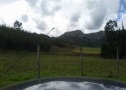 3 hectareas en cayambe con agua de riego a 20 minutos del centro