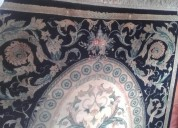 Alfombra lana fina diseño naturaleza