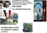 electronica radio tv reparacion  guayaquil