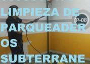Telef 022321570 limpieza de estacionamientos subterraneos