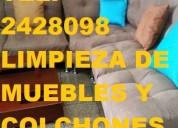 Telef 2428098 lavamos colchones muebles asientos de aviÓn