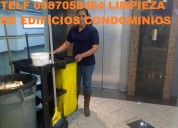 Telef 2428098 limpieza profunda para obra terminada