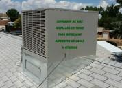 Enfriamiento de aire para galpones y bodegas