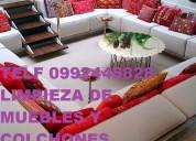 Telf 0992448828 limpieza de muebles colchones con maquinaria