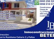 Inmoconstrucciones betel: servicio de venta on-line de sus propiedades