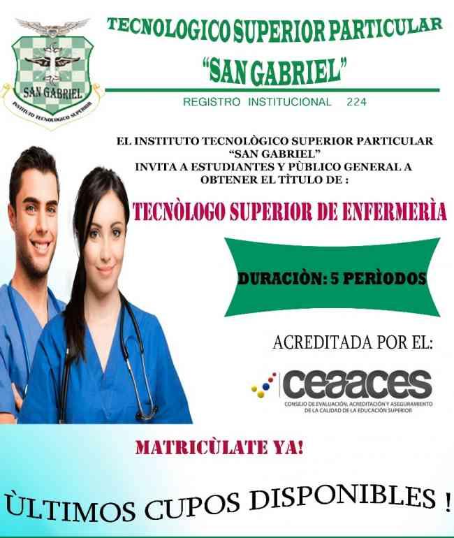 TECNOLOGIA DE ENFERMERIA, Riobamba - Doplim - 1034056