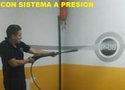 Telf 2428098 limpieza de fachadas y pisos con maquinaria