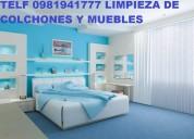 Telef 0991073831 lavamos alfombras colchones muebles