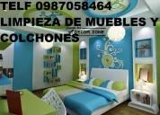 Telef 0991073831 lavamos colchones muebles cortinas