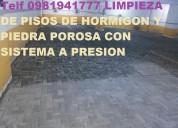 Telef 0991073831 lavamos pisos en parqueaderos con maquinaria