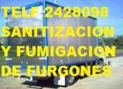 Sanitacion y desinfeccion de furgones llamenos 2428098
