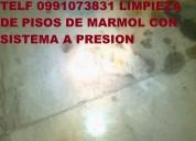 Telf 0992448828 limpieza profunda de pisos marmol piedra y madera