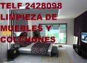 Telf 2428098 limpieza  muebles asientos de vehÍculos fumigaciones