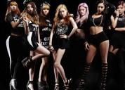Chicas para grupo femenino